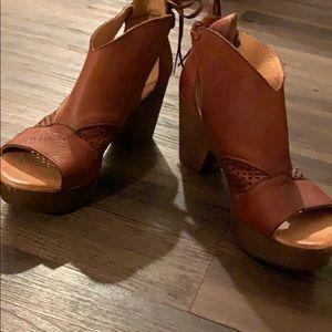 Free people heels/clog